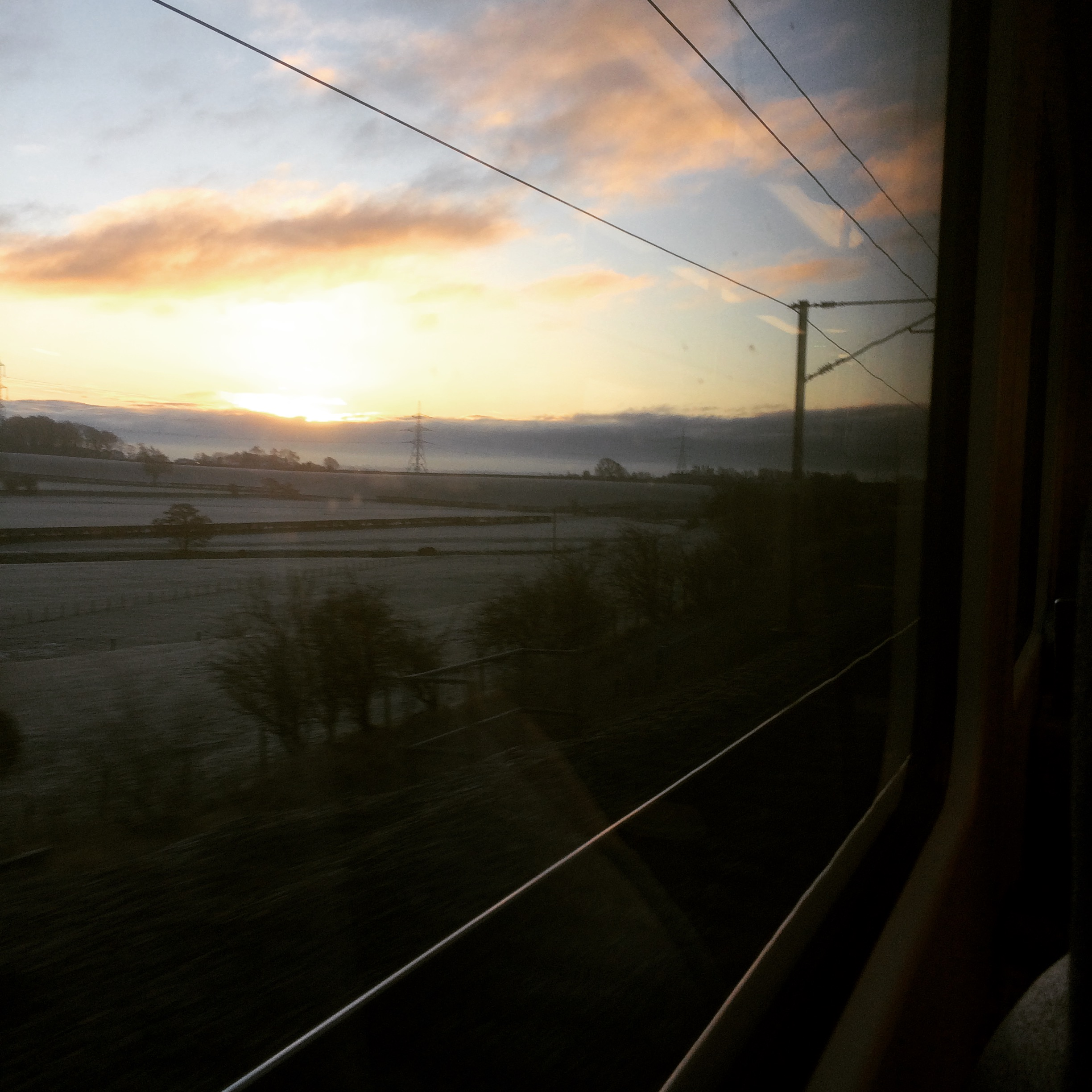 View from the train.